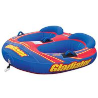 Gladiator Sonix II 2-Person Towable Tube With Lightning Valve