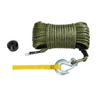 """Off Terrain Synthetic Winch Rope Kit, 95' x 0.375"""""""