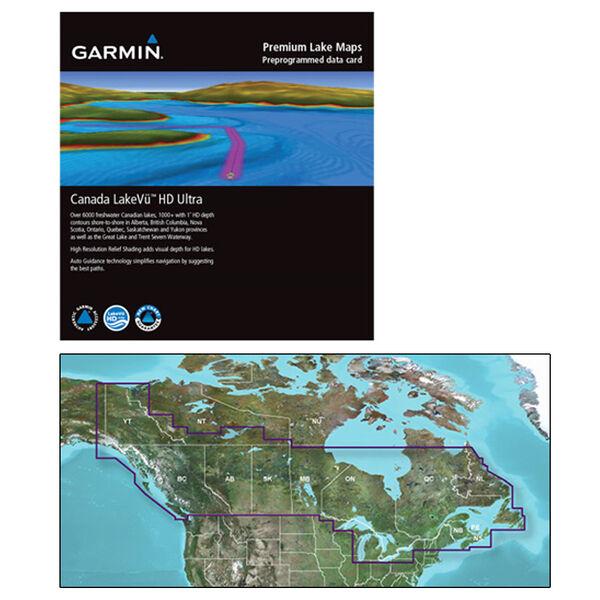Garmin Canada LakeVu HD Ultra MicroSD/SD Card For GPSMAP/echoMAP Series