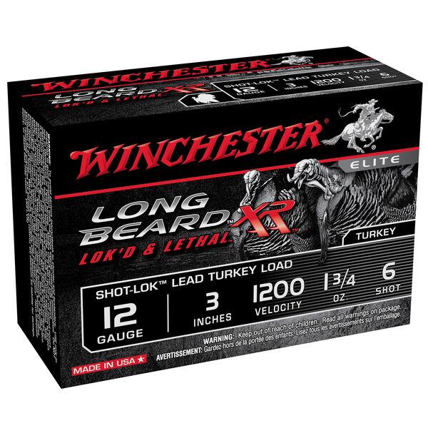 "Winchester Long Beard XR Turkey Loads, 12-ga., 3"", 1-3/4 oz., #6"