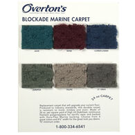 Overton's Blockade 24-oz. Carpet Sample Swatch Card