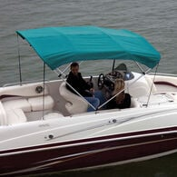 """Shademate Bimini Top Sunbrella Fabric and Boot Only, 4-Bow 8'L, 42""""H, 54""""-60""""W"""