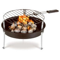 Grill Boss Portable Charcoal Grill with 1.2-lb. Bag of Charcoal