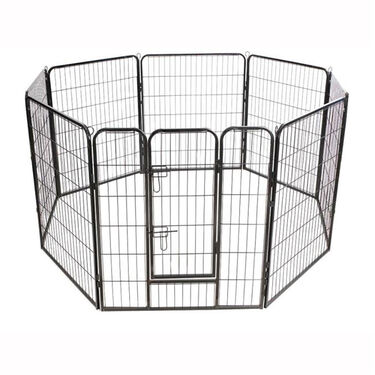 "Heavy-Duty Pet Fence, 36""H"