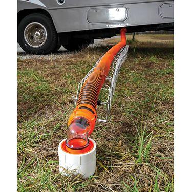 Aluminum Sewer Hose Support