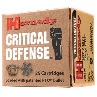 Hornady Critical Defense Handgun Ammo, .45 ACP, 185-gr., FTX, 25 Rounds