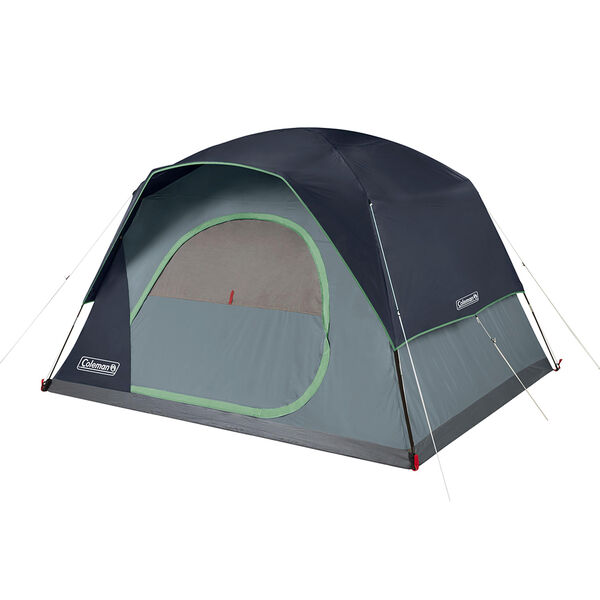 Coleman Skydome 6-Person Camping Tent, Blue
