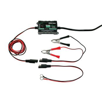 Extreme Max Battery Buddy Intelligent Battery Charger/Maintainer, 6V/12V