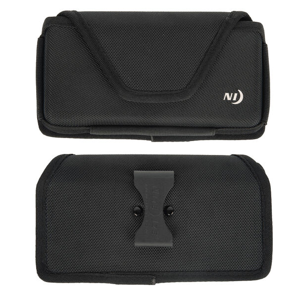Nite Ize Clip Case Hardshell Horizontal Phone Holster 2XL, Black