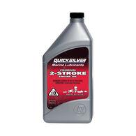 Quicksilver Premium 2-Cycle TC-W3 Outboard Oil, Liter