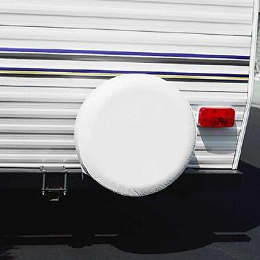 """ADCO Tire Cover, Polar White, 27"""""""