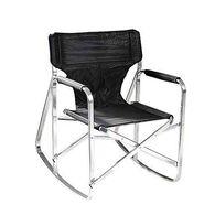 Rocking Director's Chair, Black