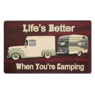 "Anti-Fatigue Kitchen Mats, 18"" x 30"", Truck & Trailer—Life is Better When You're Camping"