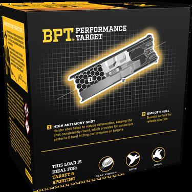 "Browning BPT Performance Target Loads, 12-ga., 2-3/4"", 1-1/8 oz., #7.5, 1300 fps"