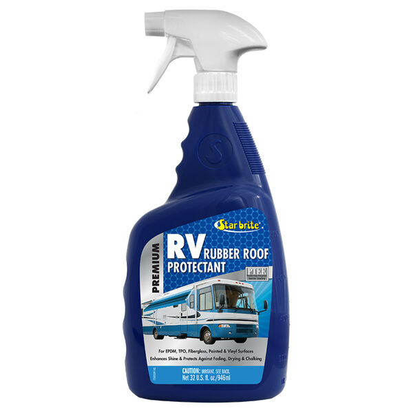 Star brite Premium RV Rubber Roof Protectant, 32 oz.