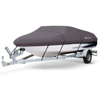 StormPro Boat Covers, Fits 20'-22' V-hull Boats with Beam Width to 106""