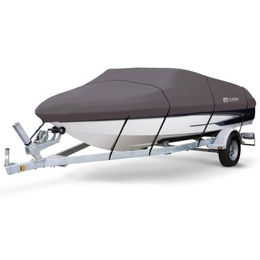 StormPro Boat Covers, Fits 22'-24' V-hull Boats with Beam Width to 116""
