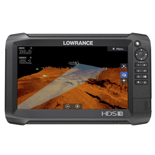 Lowrance HDS-9 Carbon Fishfinder Chartplotter w/StructureScan 3D Transducer