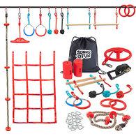 Sunny & Fun Mega Slack Line Hanging Obstacle Course