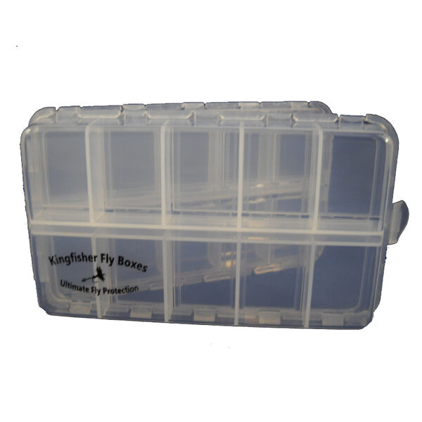 New Phase Clear 20-Compartment Fly Box