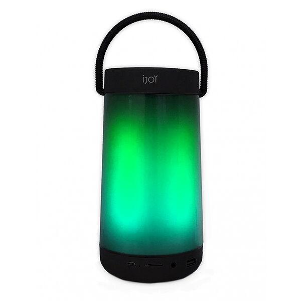 iJoy Aurora Color-Changing Bluetooth Lantern Speaker