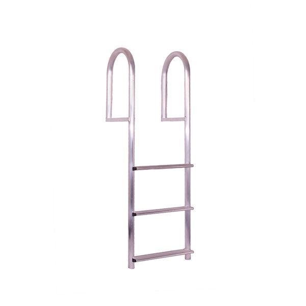 Dockmate Stationary Wide-Step Dock Ladder, 3-Step