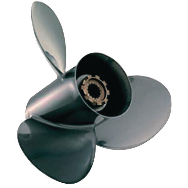 Quicksilver Black Diamond 3-Blade Prop w/Hub / Aluminum 9.25 dia x 10.5, RH