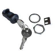 Push To Close Latch Keylocking Flush Small