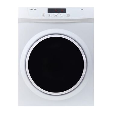 Compact Standard Electric Dryer 3.5 Cu. Ft. with Sensor Dry, Refresh function and Wrinkle guard