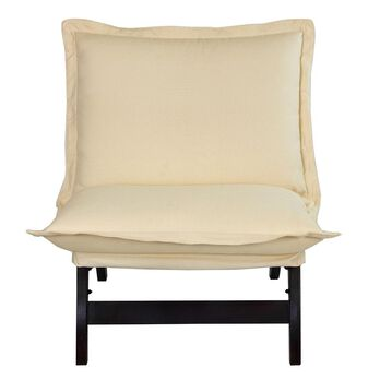 Casual Folding Lounger Chair, Espresso