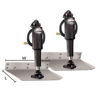 "Lenco 9"" x 12"" Standard-Mount Electric 12V Trim Tab Kit"