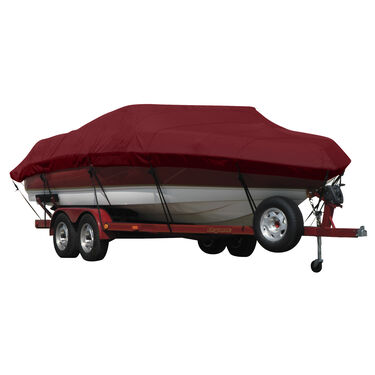 Sunbrella Exact-Fit Cover - Chaparral 220 SSI BR I/O covers extended platform