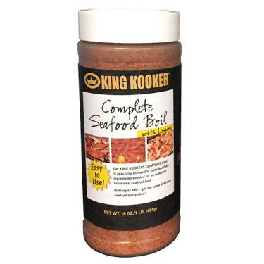 King Kooker Complete Seafood Boil Seasoning
