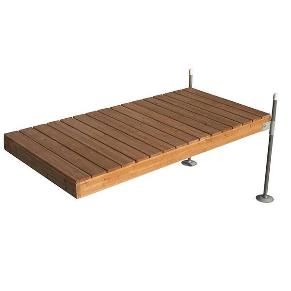 Tommy Docks 8' Straight Cedar Complete Dock Package