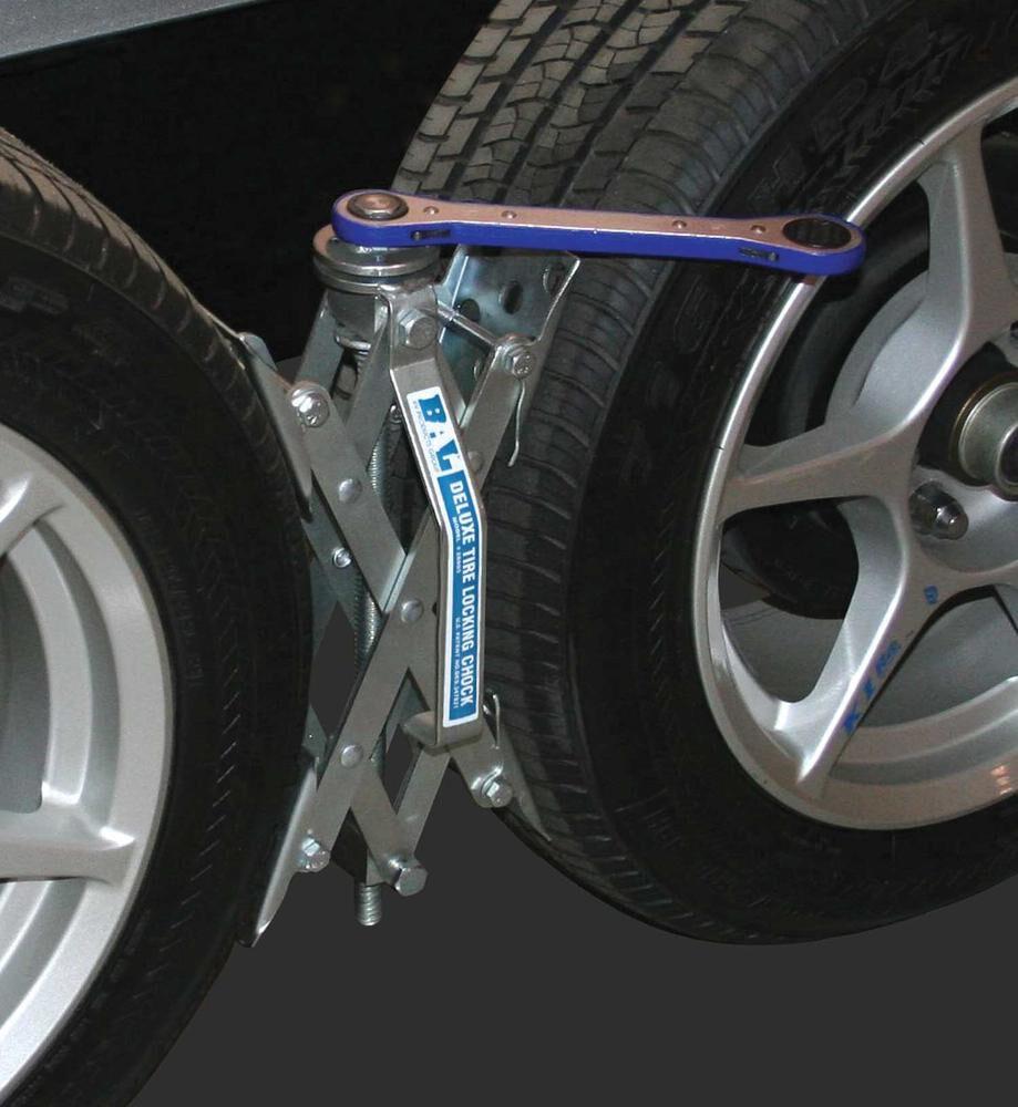 X-Chock Tire Locking Chocks, 2-Pack