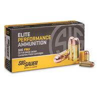 Sig Sauer Elite Performance FMJ Ammo