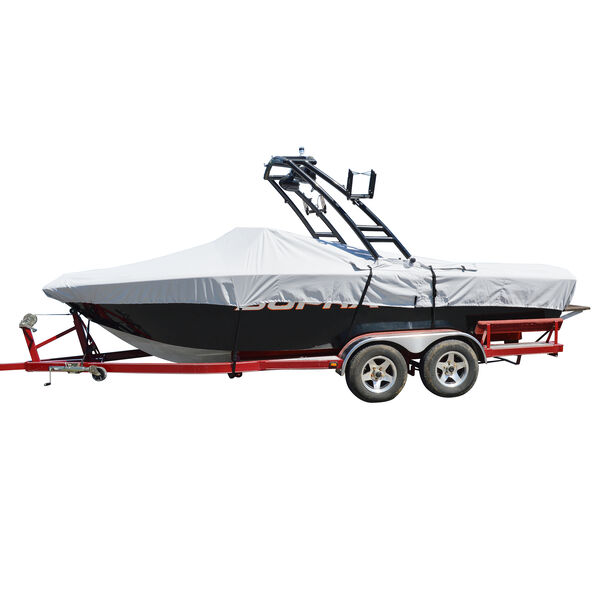 """Tower-All Select-Fit I/O Tournament Ski Boat Cover, 18'5"""" max. length, 96"""" beam"""