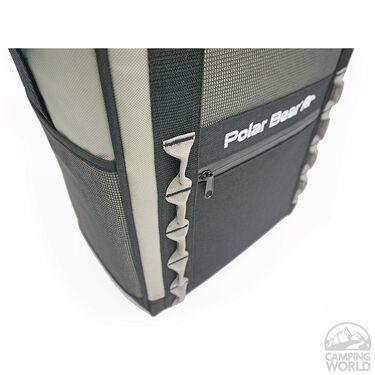 Polar Bear Eclipse Backpack Cooler, Silver
