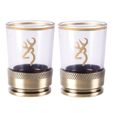 Browning Bullet Shot Glasses, Set of 2