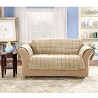 "Deluxe Pet Sofa Throw - 76"" Width, Ivory"