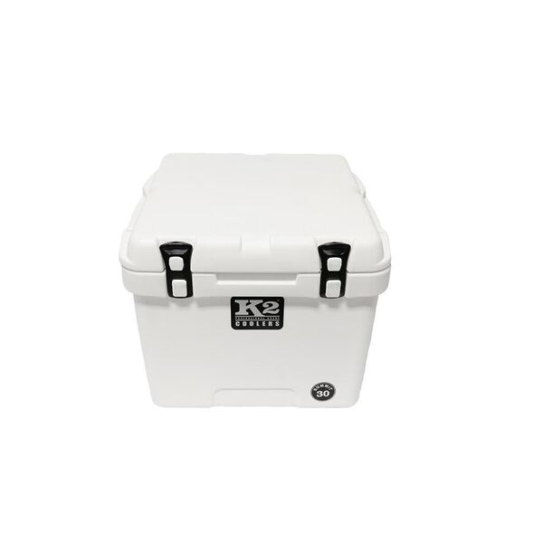 K2 Summit 30 Quart Cooler, Glacier White