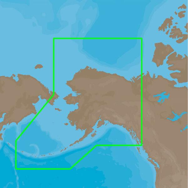 C-MAP Full 4D MAX, Alaska