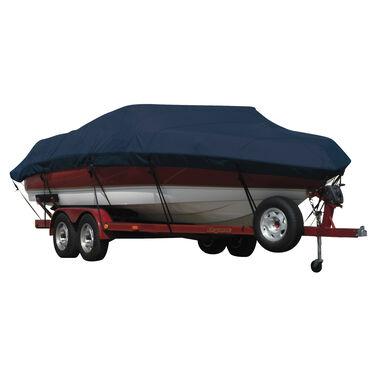 Exact Fit Sunbrella Boat Cover For Aquasport 215 Osprey Sport Anchor Davit