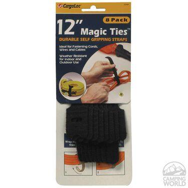 """12"""" Magic Ties, 8 pack"""