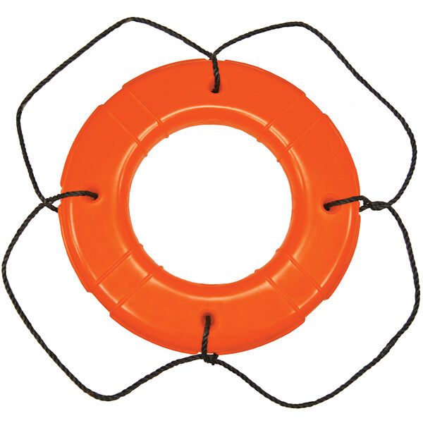 """Life Ring USCG Approved, Orange (24"""")"""