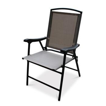 Folding Sling Chair, Oxford Tan