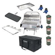 "Padded Grill & Accessory Carrying/Storage Case, Fits up to 12"" X 18"""