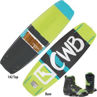 CWB Faction Wakeboard With Faction Bindings