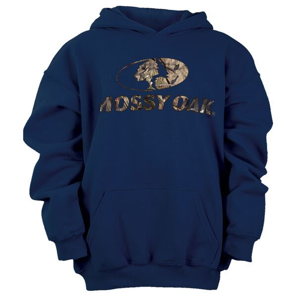 Mossy Oak Youth Heavy-Blend Pullover Hoodie
