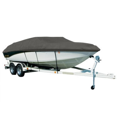 Exact Fit Covermate Sharkskin Boat Cover For SEA RAY 160 CLOSED BOW